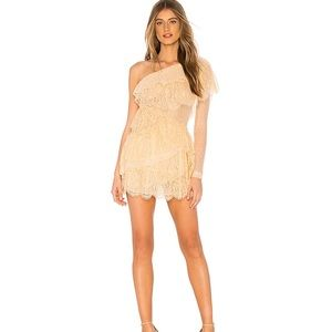 x REVOLVE Aries Dress in Nude